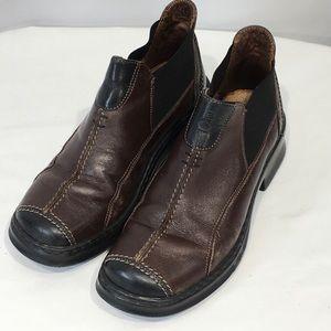 Josef Seibel Ankle Booties Sz 36 EU Brown Black